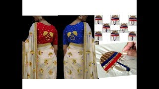 Easy Hand Embroidering Pattern On Churidar Kurti Free Video Search