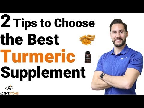 2 Tips to Choose the Best Turmeric Supplement