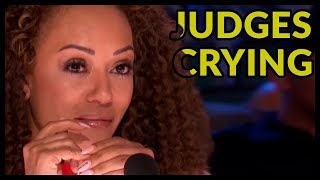 "Top 7 Acts ""JUDGES START TO CRY"" STRONG MOMENTS on AMERICA"