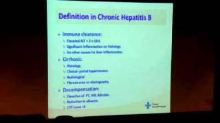 Chronic Hepatitis B: What to do after diagnosis (1/3)