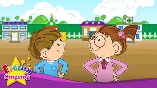 Chào. Chào bạn. Tạm biệt. (Chúc mừng bài hát) - bài hát tiếng Anh cho trẻ em