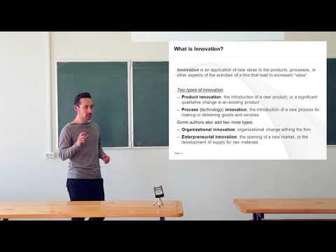 Экономика инноваций. Лекция 1. Азамат Валей (CERGE-EI, Прага)