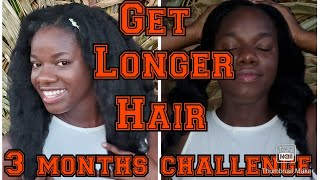 How To Grow Long Natural Hair 3 Months Challenge Series Update. Answering Your Questions On 4c Hair.