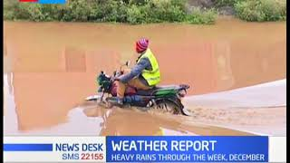 Weatherman warns of heavy rains in coming days across the country