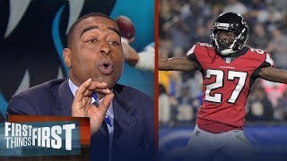 Nick and Cris on the Falcons' 26-13 win over the Rams in NFL Playoffs   FIRST THINGS FIRST