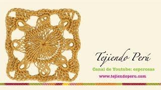 Horquilla (hairpin Lace): Cómo Tejer Un Motivo Cuadrado Con Base Circular (# 4)