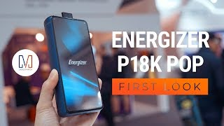 Energizer Power Max P18K Pop - This Energizer phone has a battery that keeps going and going