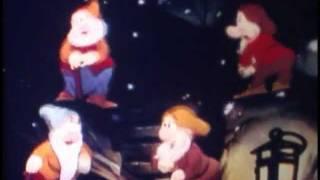 Seven Wise Dwarfs Disney Snow White 7 Dwarfs Cartoon US Saving Bonds WW2