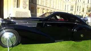 preview picture of video 'Windsor Castle Concour d'Elegance 2012 (5)'