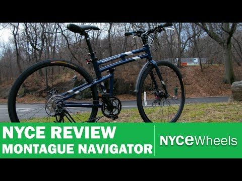 Montague Navigator – Full Sizes Hybrid Folding Bike Review