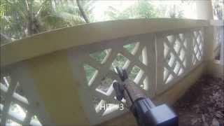 preview picture of video 'Airsoft en Villa Coco, Juan Dolio, República Dominicana (TAST y CMD) (Dic. 01, 2013)'