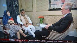 HARDtalk:Malala Yousafzai and Kailash Satyarthi   joint winners of the Nobel Peace Prize 2014