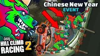 Hill Climb Racing 2 - Chinese New Year Event Funny Compilation & Best Moments