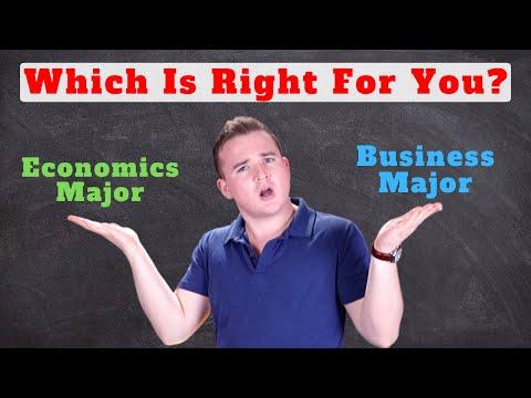 Business vs Economics Major!! (4 Key Differences)