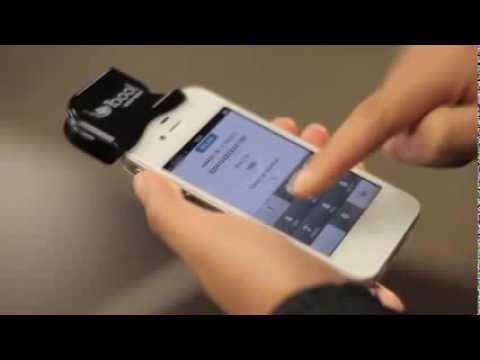Lector de tarjetas de crédito portatil