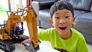 Car Toy Excavator Truck Unboxing