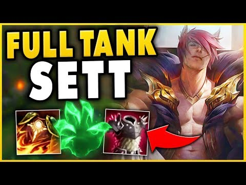 *NEW CHAMPION* TANK SETT CAN LEGIT 1V5 ANYONE!! (ACTUALLY BROKEN) - League of Legends