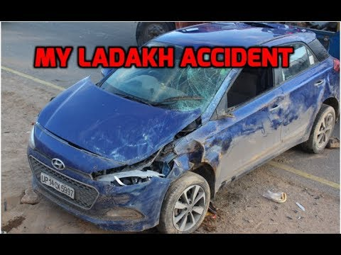 My Car i20 Accident In leh Ladakh | How I Survived