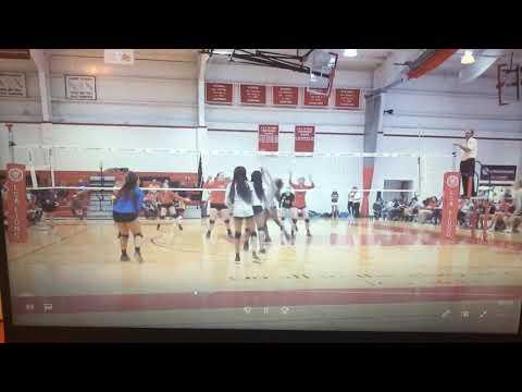 Short clip, MHS Vs. LSA, at the LSA tournament (9/14/19)
