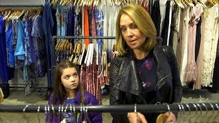 Child begs mom not to spend grocery money on clothes for herself | What Would You Do? | WWYD