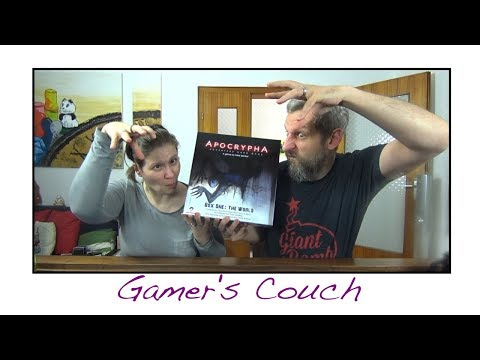 Gamer's Couch #149 - Apocrypha Adventure Card Game