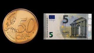 Magic Convert Money - 50 Cent to 5 Euro