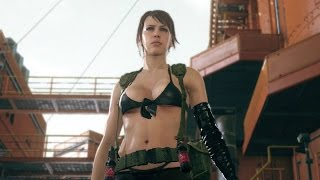 Metal Gear Solid 5 Easter Egg: Clean Up With Quiet