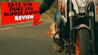 2015 KTM Duke 390 (Slipper Clutch) | Review | PowerDrift