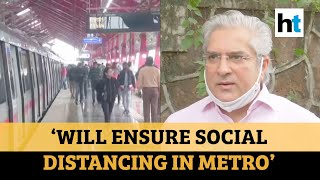 Will live up to the challenge: Delhi transport minister on metro resumption  IMAGES, GIF, ANIMATED GIF, WALLPAPER, STICKER FOR WHATSAPP & FACEBOOK
