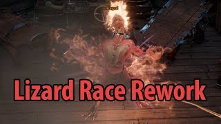 Lizard Race Rework