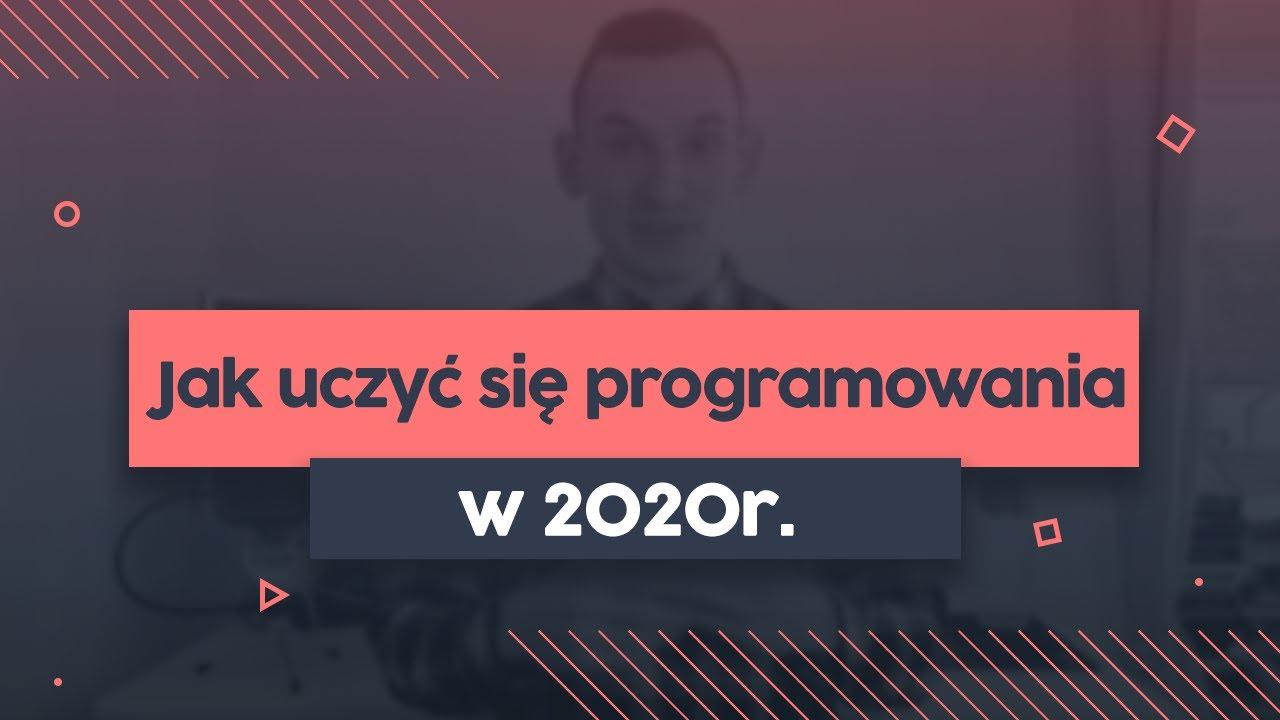 Jak efektywnie uczyć się programowania w 2020 roku? | Przeprogramowany vlog v0.0.48 cover image