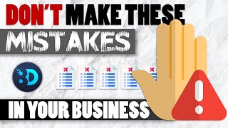 Top 5 Business Mistakes in 2020