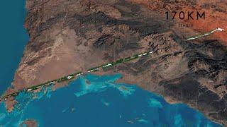 video: Saudi Arabia tapping UK expertise to build 105-mile strip city in desert