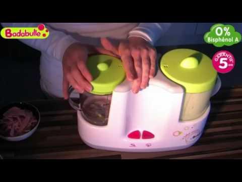MamaLoes Babysjop - Badabulle Elektrische Stoomkoker en Flessenwarmer