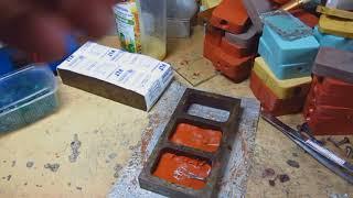 Пресс форма для изготовления резиновых манжет