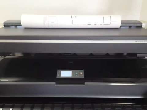 HP Designjet T1200 HD MFP Demo