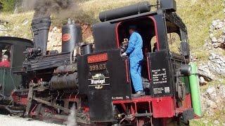 preview picture of video 'Dampfwolken über den Semmering'