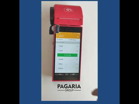 Android Billing POS with Printer Watchdata