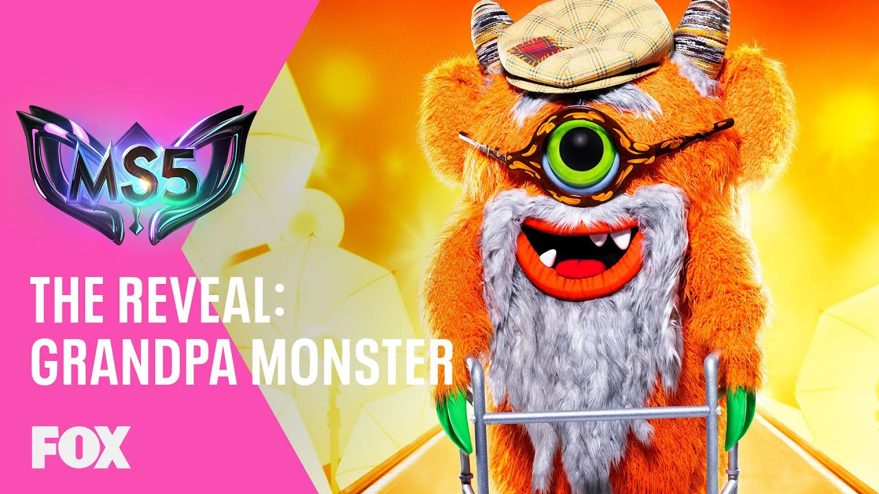 The Grandpa Monster Is Revealed! Who's Behind The Mask? | Season 5 Ep. 4 | THE MASKED SINGER