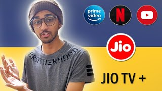 Single Sign-in For 12 OTT Platforms | JIO TV+ | TECHBYTES