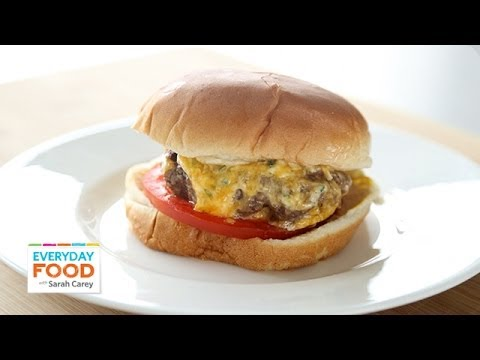 Upgrade Your Burger with Pimiento Cheese – Everyday Food with Sarah Carey