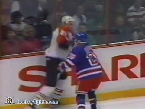 Terry Carkner vs. Joey Kocur