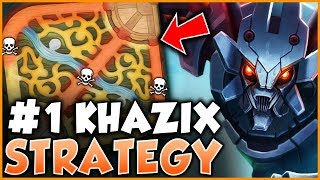 #1 KHAZIX WORLD EXPLAINS HOW TO CARRY 3 LOSING LANES IN HIGH ELO!   League Of Legends