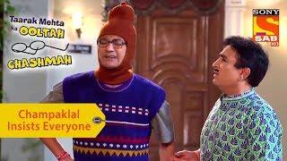 Your Favorite Character | Champaklal Insists Everyone | Taarak Mehta Ka Ooltah Chashmah