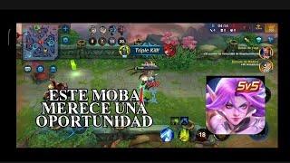 EL MOBA ABANDONADO DE LA PLAY STORE  Heroes arena gameplay 2020 español