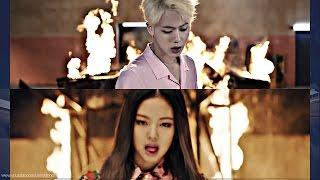 BTS & BLACKPINK   Playing With FIRE '불장난X불타오르네' MASHUP