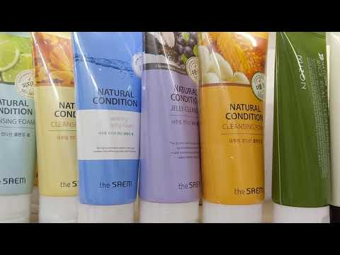 Пенки для умывания Natural Condition Cleansing Foam