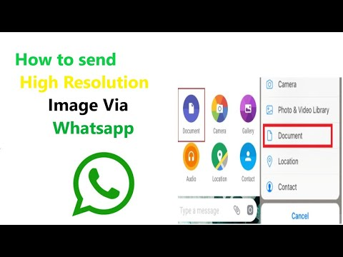 Send Original HIGH QUALITY PHOTOS On WhatsApp | Tamil @ Sathak ITech