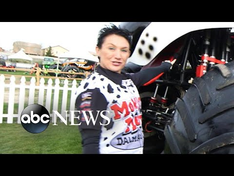 Meet the female monster truck drivers who are barreling over their competition