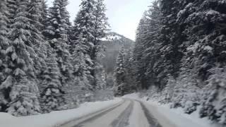 Дорога на Буковель